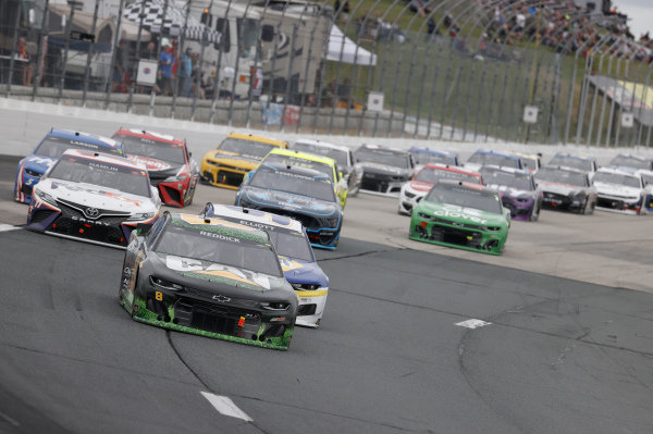 #8: Tyler Reddick, Richard Childress Racing, Chevrolet Camaro Cat #WeDigLandscaping