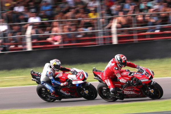 Danilo Petrucci, Ducati Team, Francesco Bagnaia, Pramac Racing.