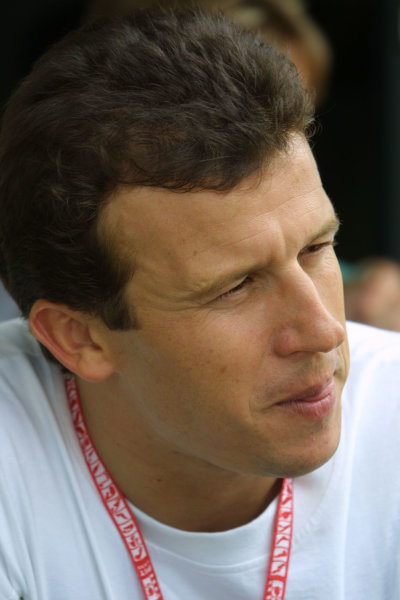 2001 Brazilian Grand Prix.Interlagos, Sao Paulo, Brazil. 30/3-1/4 2001.Olivier Panis (B.A R. Honda) 4th position.World Copyright - Bellanca/LAT Photographicref: 8 9 MB Digital