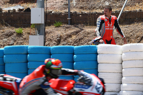 Jack Miller, Pramac Racing after crash.