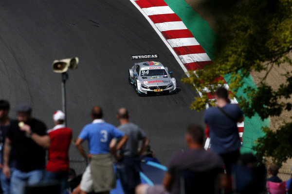 The best photos from the DTM's race in the UK