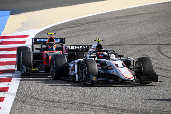 Christian Lundgaard (DNK, ART GRAND PRIX) and Felipe Drugovich (BRA, MP MOTORSPORT)