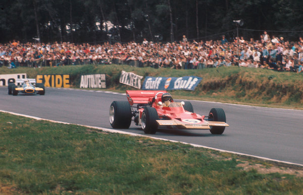 1970 British Grand Prix.Brands Hatch, England.16-18 July 1970.Jochen Rindt (Lotus 72C Ford) 1st position.Ref-70 GB 23.World Copyright - LAT Photographic