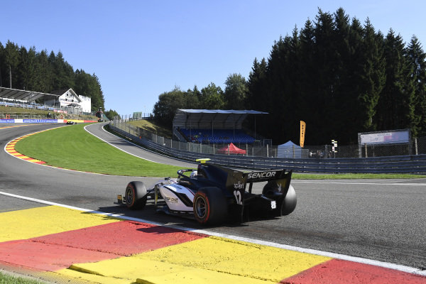SPA-FRANCORCHAMPS, BELGIUM - AUGUST 30: Juan Manuel Correa (USA, SAUBER JUNIOR TEAM BY CHAROUZ) during the Spa-Francorchamps at Spa-Francorchamps on August 30, 2019 in Spa-Francorchamps, Belgium. (Photo by Gareth Harford / LAT Images / FIA F2 Championship)