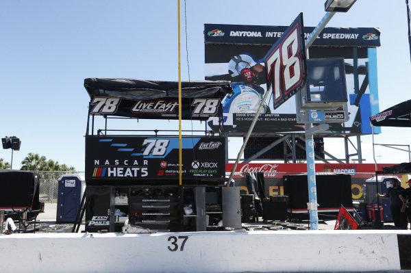 #78: BJ McLeod, Live Fast Motorsports, Ford Mustang