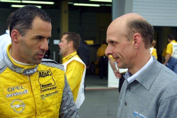 Alain Menu (SUI) Opel.German Touring Car Championship, Sachsenring, Germany, 2 June 2002DIGITAL IMAGE