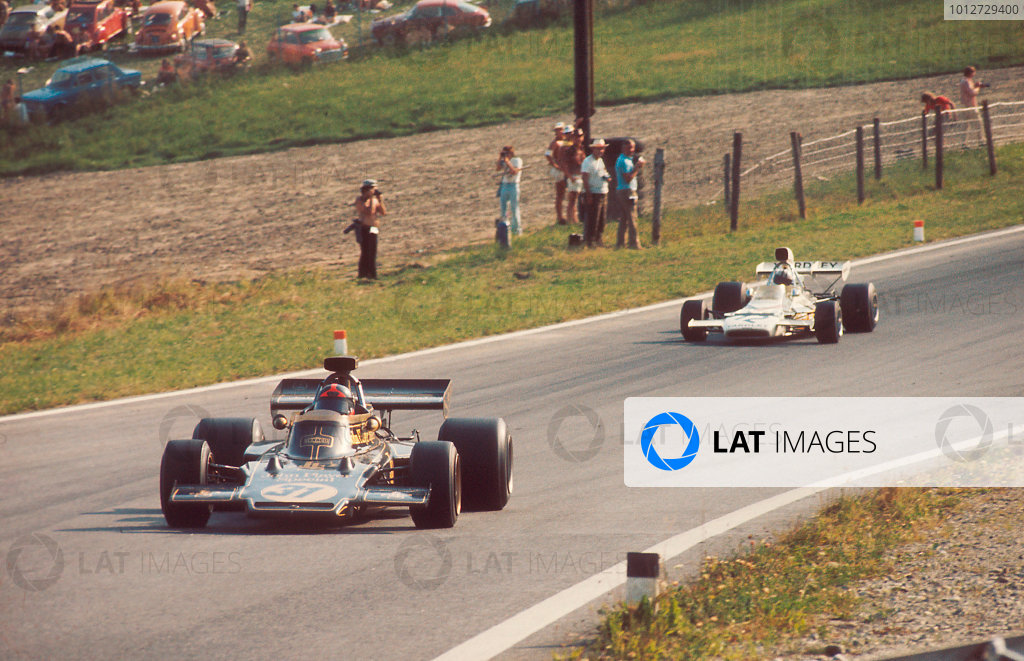 1972 Austrian Grand Prix  : 1972 Formula 1 Photo