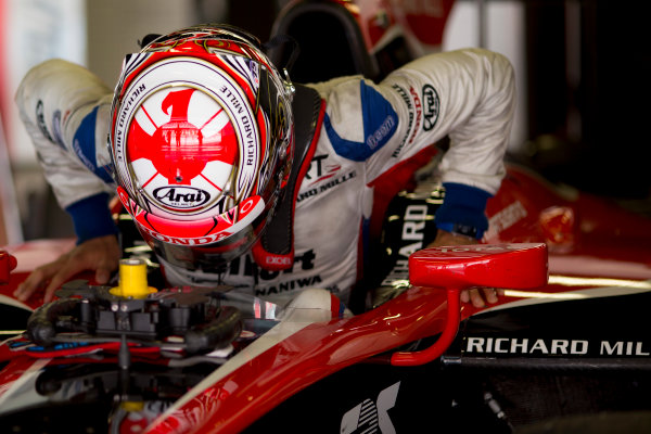 Circuit de Barcelona Catalunya, Barcelona, Spain. Wednesday 15 March 2017. Nobuharu Matsushita (JPN, ART Grand Prix). Photo: Alastair Staley/FIA Formula 2 ref: Digital Image 585A0201