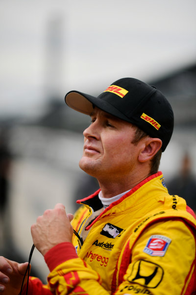 Verizon IndyCar Series IndyCar Grand Prix Indianapolis Motor Speedway, Indianapolis, IN USA Friday 12 May 2017 Ryan Hunter-Reay, Andretti Autosport Honda World Copyright: Scott R LePage LAT Images ref: Digital Image lepage-170512-indy-0314