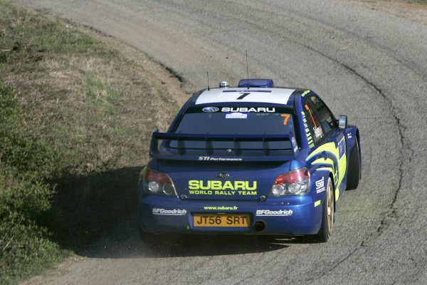 2007 FIA World Rally ChampionshipRound 13Rally of France, Tour de Course 200711-14 October 2007Petter Solberg WRC Subaru, Action.Worldwide Copyright: McKlein/LAT