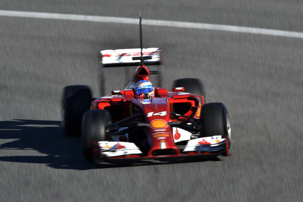 Fernando Alonso (ESP) Ferrari F14 T.