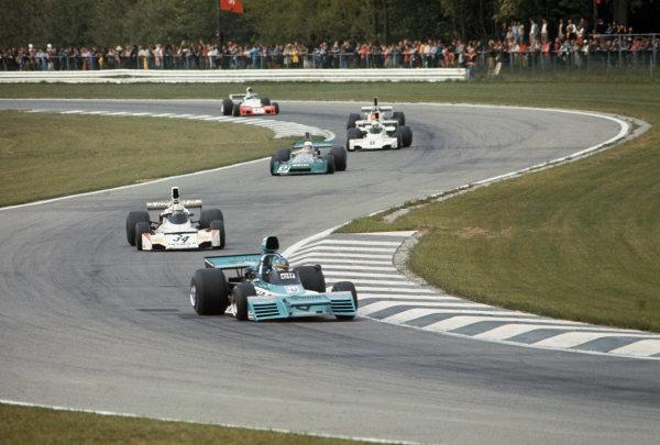 Nivelles-Baulers, Belgium. 12 May 1974.Gerard Larrousse (Brabham BT42 Ford), retired, action.World Copyright: LAT Photographicref: 35mm Transparency Image