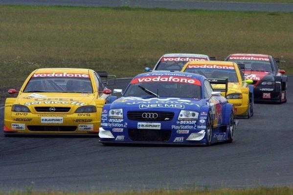 Karl Wendlinger (AUT) Team Abt Audi TT.DTM Championship, Rd6, Lausitzring, Germany. 14 July 2002.DIGITAL IMAGE