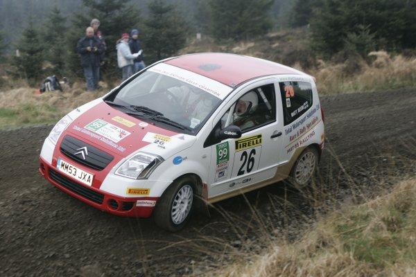 2007 British Rally Championship,Pirelli International Rally, Carlisle, Cumbria. 20th-21st April 2007.Matt BeebeWorld Copyright: Ebrey/LAT photographic.