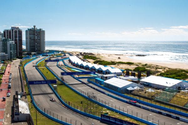2015/2016 FIA Formula E Championship. Testing, Punta del Este, Uruguay. Sunday 20 December 2015. Sam Bird (GBR), DS Virgin Racing DSV-01. Photo: Zak Mauger/LAT/Formula E ref: Digital Image _L0U9531