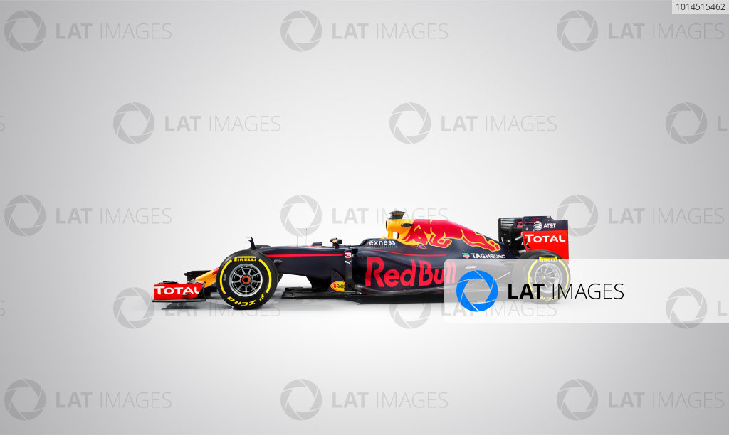 Red Bull Racing RB12 Studio Images. Milton Keynes, UK. Saturday 20 February 2016. The Red Bull RB12. Photo: Red Bull Content Pool (Copyright Free FOR EDITORIAL USE ONLY) ref: Digital Image 20160220_REDBULL_RB12_01
