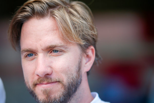 FIA Formula E Championship 2015/16. Pre-season Testing Session Two. Nick Heidfeld (GER), Mahindra Racing M2ELECTRO  Donington Park Racecourse, Derby, England. Tuesday 11 August 2015 Photo: Adam Warner / LAT / FE ref: Digital Image _L5R9291