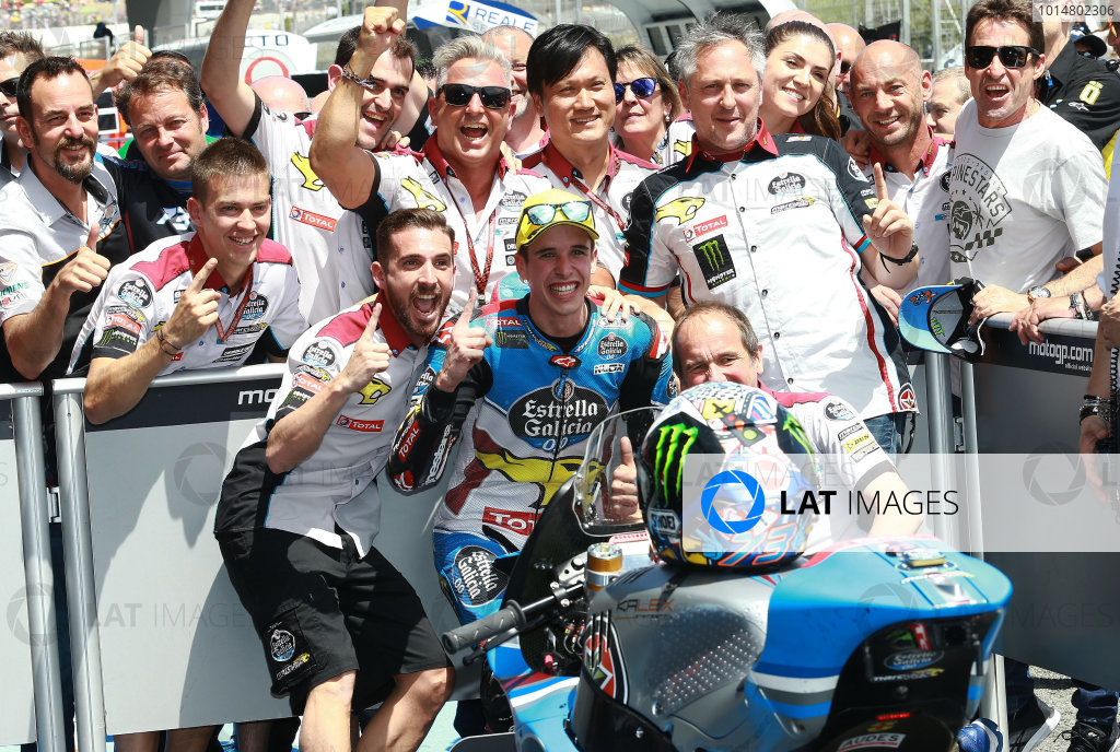 2017 Moto2 Championship - Round 4 Jerez, Spain Sunday 7 May 2017 Race winner Alex Marquez, Marc VDS World Copyright: Gold & Goose Photography/LAT Images ref: Digital Image 668728