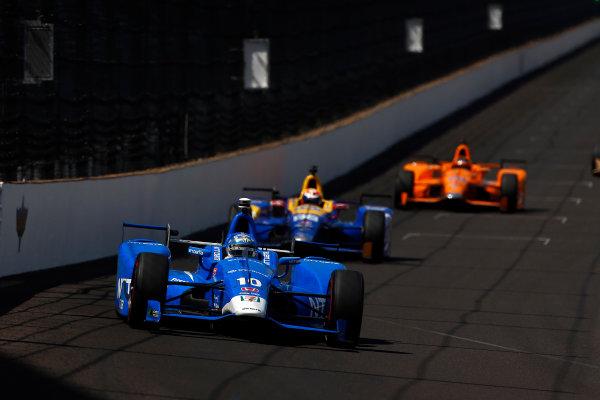 Verizon IndyCar Series Indianapolis 500 Practice Indianapolis Motor Speedway, Indianapolis, IN USA Monday 22 May 2017 Tony Kanaan, Chip Ganassi Racing Teams Honda World Copyright: Phillip Abbott LAT Images