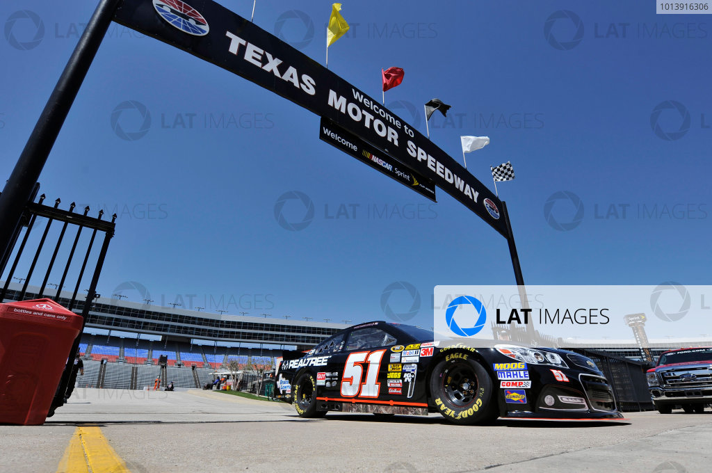 11-13 April, 2013, Fort Worth, Texas USA Austin Dillon ©2013, Nigel Kinrade LAT Photo USA