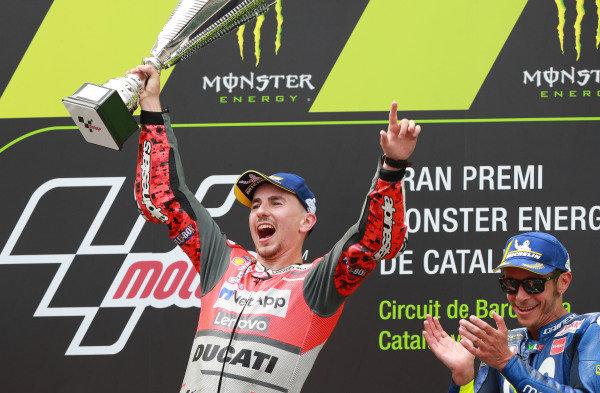 Lorenzo, Catalunya MotoGP 2018