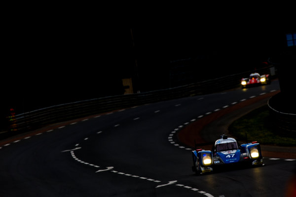 2016 Le Mans 24 Hours. Circuit de la Sarthe, Le Mans, France. Thursday 16 June 2016. KCMG / Oreca 05-Nissan - Tsugio Matsuda (JPN), Matthew Howson (GBR), Richard Bradley (GBR).  World Copyright: Zak Mauger/LAT Photographic ref: Digital Image _79P5484