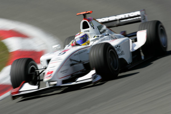 2005 GP2 Series - EuropeanNurburgring, Germany 27th-29th May 2005Friday PracticeNico Rosberg (D, ART GP). Action. Photo: GP2 Series Media Serviceref: Digital Image Only.