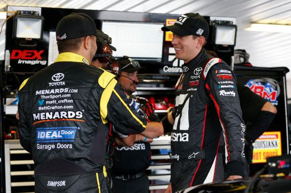 Kyle Busch NASCAR Truck Photos , Matthew T  Thacker / NKP