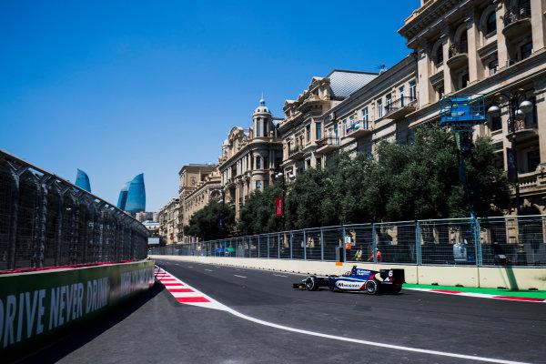 2017 FIA Formula 2 Round 4. Baku City Circuit, Baku, Azerbaijan. Friday 23 June 2017. Artem Markelov (RUS, RUSSIAN TIME)  Photo: Zak Mauger/FIA Formula 2. ref: Digital Image _54I9370