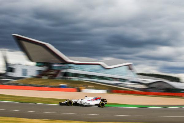Silverstone, Northamptonshire, UK.  Friday 14 July 2017. Felipe Massa, Williams FW40 Mercedes. World Copyright: Charles Coates/LAT Images  ref: Digital Image AN7T4994