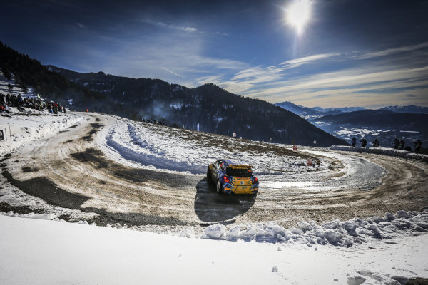 Damien Oberti (FRA) / Thierry Pascal (FRA) Peugeot 207 S2000 at FIA World Rally Championship, Rd1, Rally Monte Carlo, Day Three, Monte Carlo, Monaco, 24 January 2016.