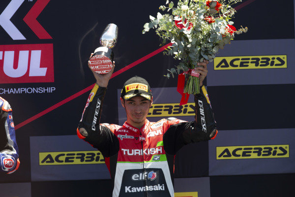 Third place Toprak Razgatlioglu, Turkish Puccetti Racing