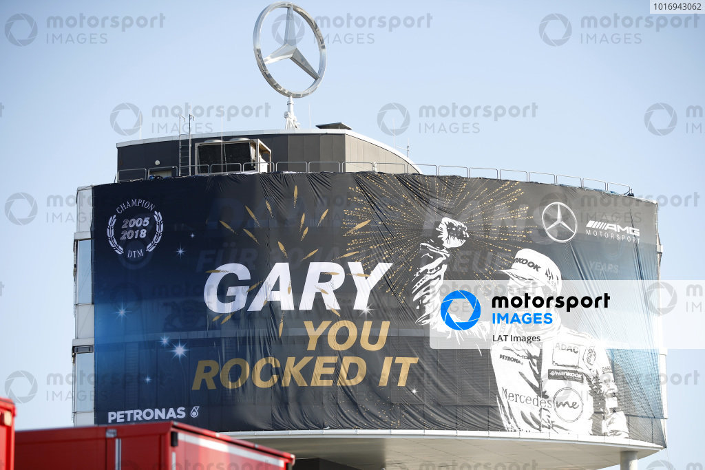 Banner for champion Gary Paffett, Mercedes-AMG Team HWA