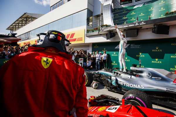 Action and art from the F1's Budapest weekend