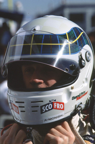 1999 American Le Mans Series.Las Vegas, Nevada, USA.7 November 1999.Allan McNish.World - Lawrence/LAT Photographic