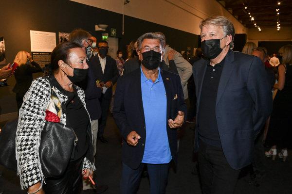 Rainer Schlegelmilch and Steven Tee, Motorsport Images Exhibition at Villa Reale di Monza