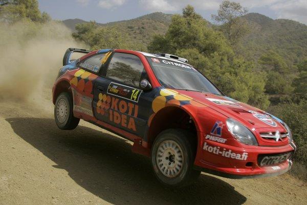 2006 FIA World Rally Champs. Round twelveCyprus Rally.21st - 24th September 2006.Toni Gardemeister, Citroen, action.World Copyright: McKlein/LAT