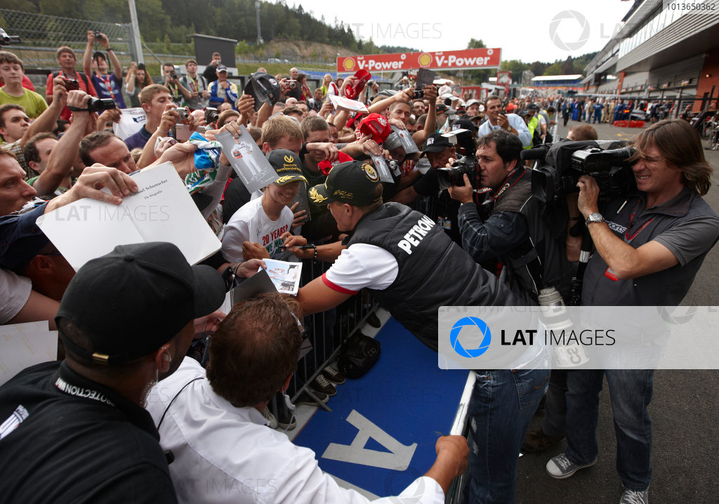 2011 Belgian Grand Prix - Thursday