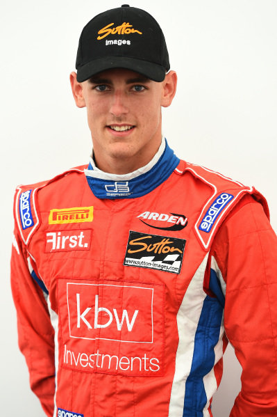 Kevin Ceccon (ITA) Arden International at GP3 Series, Rd4, Hungaroring, Hungary, 24-26 July 2015.