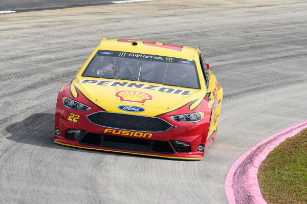 Monster Energy NASCAR Cup Series First Data 500 Martinsville Speedway, Martinsville VA USA Saturday 28 October 2017 Joey Logano, Team Penske, Shell-Pennzoil Ford Fusion World Copyright: John K Harrelson/LAT Images