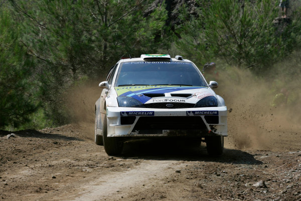 2004 FIA World Rally Champs. Round seven, Rally Turkey.24th- 27th June 2004.Francois Duval, Ford, action.World Copyright: McKlein/LAT