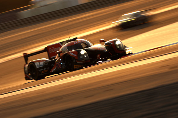 2015 FIA World Endurance Championship, Bahrain International Circuit, Bahrain. 19th - 21st November 2015. Romain Rusinov / Julien Canal / Sam Bird G-Drive Racing Ligier JS P2 Nissan. World Copyright: Jakob Ebrey / LAT Photographic.