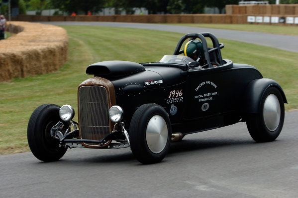 2005 Goodwood Festival of SpeedGoodwood Estate, West Sussex. 24th - 26th June Tony Thacker, Ford Model B Roadster. Action World Copyright: Jeff Bloxham/LAT Photographicref: Digital Image Only