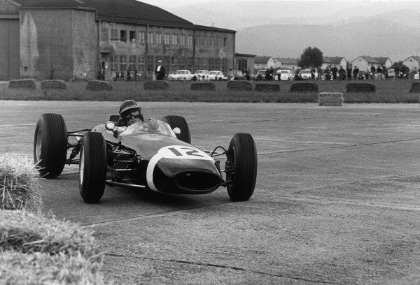 Zeltweg, Austria. 21-23 August 1964.Jochen Rindt (Brabham BT11-BRM), retired, action. World Copyright: LAT Photographic.Ref: 11120C - 30A.