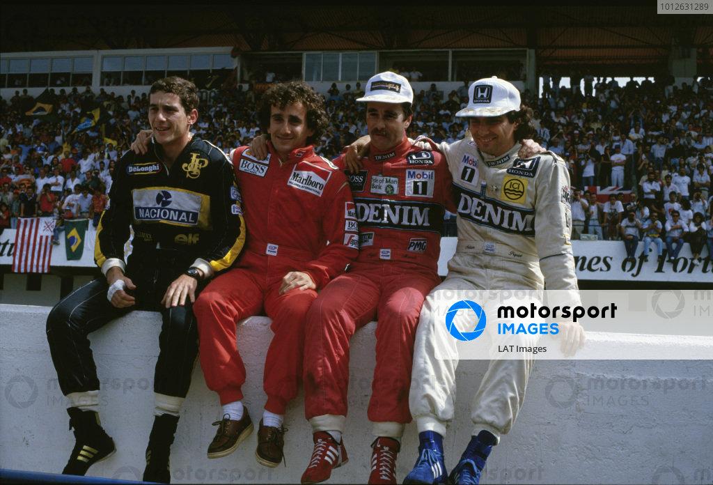 1986 Portuguese Grand Prix.