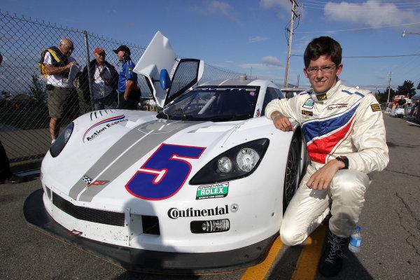 10-11 August, 2012, Watkins Glen, New York USAJordan Taylor is shown next to his #5 Chevrolet Corvette DP.(c)2012, R D. EthanLAT Photo USA