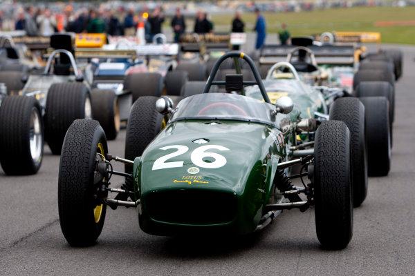 Snetterton, Norfolk. UK. 20th June 2010.Historic Team Lotus F1 Cars. World Copyright: Alastair Staley/LAT PhotographicDigital Image _O9T1607 jpg