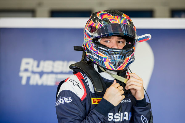 2017 FIA Formula 2 Round 10. Circuito de Jerez, Jerez, Spain. Saturday 7 October 2017. Artem Markelov (RUS, RUSSIAN TIME).  Photo: Zak Mauger/FIA Formula 2. ref: Digital Image _56I6042