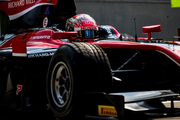 2017 FIA Formula 2 Round 9. Autodromo Nazionale di Monza, Monza, Italy. Friday 1 September 2017. Nobuharu Matsushita (JPN, ART Grand Prix).  Photo: Zak Mauger/FIA Formula 2. ref: Digital Image _56I6392