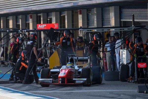 2017 FIA Formula 2 Round 10. Circuito de Jerez, Jerez, Spain. Sunday 8 October 2017. Sergio Sette Camara (BRA, MP Motorsport).  Photo: Zak Mauger/FIA Formula 2. ref: Digital Image _56I7824